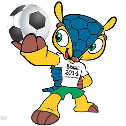 2014年巴西世界杯吉祥物福来哥图