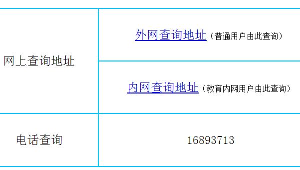 山东潍坊青州中考成绩查询系统入口图