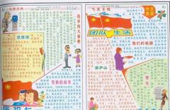 2016七一建党节手抄报图