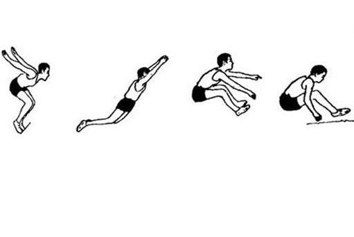 2017中考體育立定跳遠考試技巧圖片