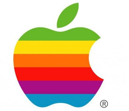 苹果公司彩色logo