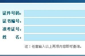 国家职业资格证书查询入口